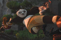 Tigress and Po in ``Kung Fu Panda 2.''