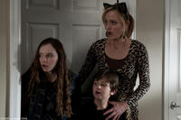 Madeline Carroll as Farren, Will Shadley as Ian and Amber Valletta as Gillian in