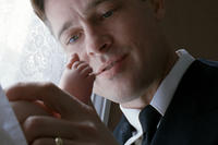 Brad Pitt as Mr. O'Brien in ``The Tree of Life.''