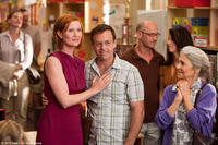 Cynthia Nixon as Miranda, David Eigenberg as Steve Brady and Lynn Cohen as Magda in