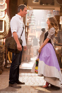 John Corbett as Aidan Shaw and Sarah Jessica Parker as Carrie in