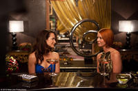 Kristin Davis as Charlotte and Cynthia Nixon as Miranda in