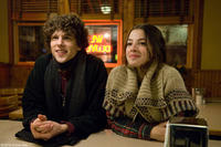 Jesse Eisenberg as Cheston and Olivia Thirlby as Cheston's girlfriend in