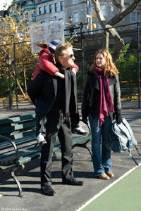 Michael Douglas as Ben and Jenna Fischer as Susan in