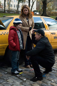 Jake Richard Siciliano as Scotty, Jenna Fischer as Susan and Michael Douglas as Ben in