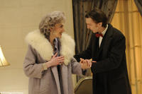 Marian Seldes as Vivian and Paul Dano as Louis in