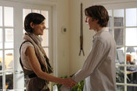 Katie Holmes as Mary and Paul Dano as Louis in