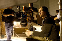 Filmmaker Matt Reeves on the set of