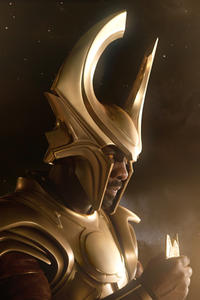 Idris Elba as Heimdall in