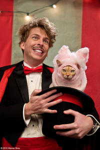 Jack McBrayer as Chuck and Kitty Galore in
