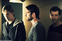 Luke Ford as Darren Cody, Sullivan Stapleton as Craig Cody and Ben Mendelsohn as Andrew