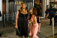 Queen Latifah as Leslie Wright and Paula Patton as Morgan Alexander in