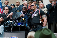 """Samuel L. Jackson as Highsmith and Dwayne Johnson as Danson in """"The Other Guys."""""""