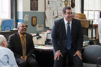 """Damon Wayans Jr. and Rob Riggle in """"The Other Guys."""""""