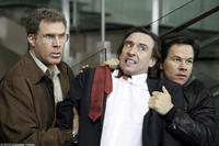 """Will Ferrell as Det. Allen Gamble, Steve Coogan as David Ershon and Mark Wahlberg as Det. Terry Hoitz in """"The Other Guys."""""""