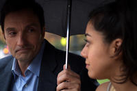 Al Bandiero as Mr. Martin and Aimee Garcia as Carmen Salgado in ``Go For It!.''