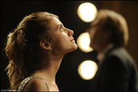 Melanie Laurent as Anne-Marie and Alexei Guskov as Andrei in