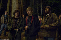 John Magaro as Alex, Max Thieriot as Bug and Denzel Whitaker as Jerome in