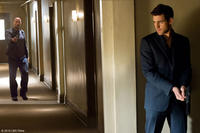 Maggie Grace as Lily and Oliver Jackson-Cohen as Killer in