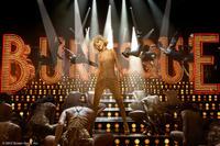 "Christina Aguilera as Ali in ""Burlesque."""