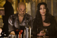 """Stanley Tucci as Sean and Cher as Tess in """"Burlesque."""""""