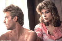 Michael Biehn as Kyle Reese and Linda Hamilton as Sarah Connor in ``The Terminator.''