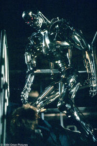 A scene from the film ``The Terminator.''