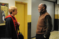 Devon Graye as Cal and Danny Glover as Mr. Newman in