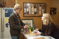 Devon Graye as Cal and Patricia Clarkson as Sharon in