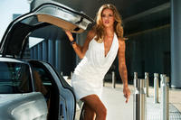 Rosie Huntington-Whiteley as Carly in ``Transformers: Dark of the Moon.''