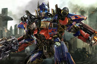 Optimus Prime in ``Transformers: Dark of the Moon.''