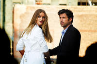 Rosie Huntington-Whiteley as Carly Miller and Patrick Dempsey as Dylan Gould in ``Transformers: Dark of the Moon.''
