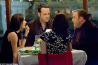 Jennifer Connelly as Beth, Vince Vaughn as Ronny Valentine and Kevin James as Nick Brennan in ``The Dilemma.''