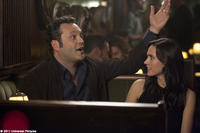 Vince Vaughn as Ronny Valentine and Jennifer Connelly as Beth in ``The Dilemma.''