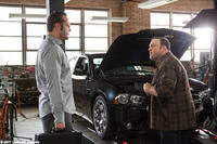 Vince Vaughn as Ronny Valentine and Kevin James as Nick Brennan in ``The Dilemma.''