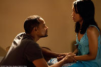 Hill Harper as Donald and Kerry Washington as Kelly in