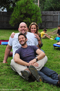 Mark Feuerstein as Eddie, Paul ``Big Show'' Wight as Walter and Melora Hardin as Mary in