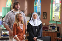 Paul ``Big Show'' Wight as Walter, Melora Hardin as Mary and Wendie Malick as Sister Francesca in