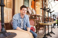 Cory Monteith as Owen in ``Monte Carlo.''