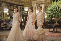 Selena Gomez as Grace, Leighton Meester as Meg and Katie Cassidy as Emma in ``Monte Carlo.''