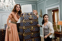 Leighton Meester as Meg, Katie Cassidy as Emma and Selena Gomez as Grace in ``Monte Carlo.''