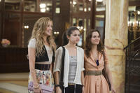 Katie Cassidy as Emma, Selena Gomez as Grace and Leighton Meester as Meg in ``Monte Carlo.''
