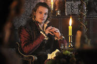 Jamie Campbell Bower as Earl of Oxford in ``Anonymous.''