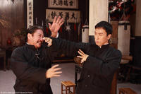 Sammo Hung as Hung Chun-nam and Donnie Yen as Ip Man in