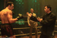 Darren Shahlavi as Twister and Donnie Yen as Ip Man in