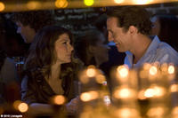 Marisa Tomei as Maggie McPherson and Matthew McConaughey as Mickey Haller in ``The Lincoln Lawyer.''