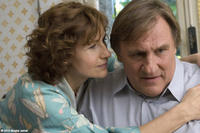 Marie Bunel as Francoise and Gerard Depardieu as Paul Bellamy in