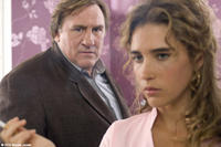 Gerard Depardieu as Paul Bellamy and Vahina Giocante as Nadia Sancho in