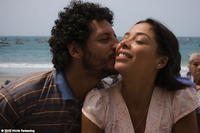 Cristian Mercado as Miguel and Tatiana Astengo as Mariela in``Undertow.''