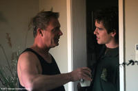 Michael Joiner as Mac McDonald and Rob Erickson as Blake McDonald in ``The Grace Card.''